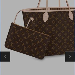 Louis Vuitton Neverfull MM Pouch ONLY